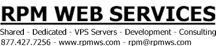 RPM WEB SERVICES
